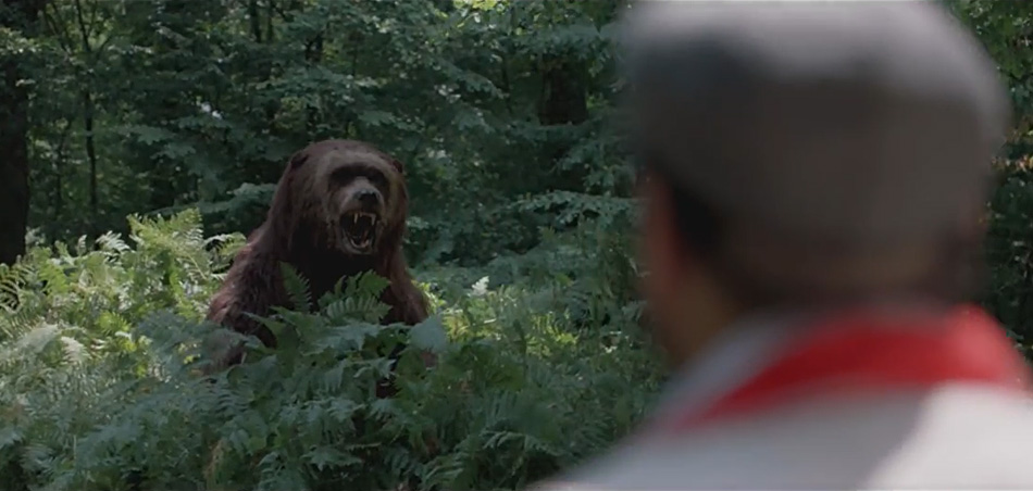 Vodafone commercial with Kodi the bear
